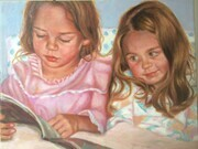 Big Sister Reads a Book