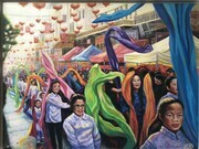 San Francisco, Chinese Ribbon Dance